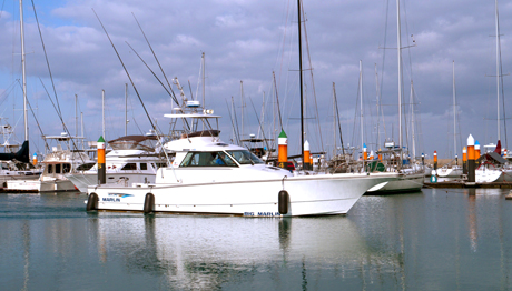 BIG MARLIN(46' Fishing Cruiser w/ flybridge)