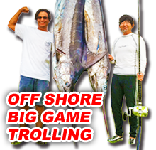 OFF SHORE BIG GAME TROLLING